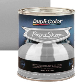 Dupli-Color Paint Shop Finishing System Candy Base Coat Silver Paint - BSP306