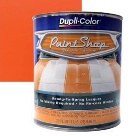 Dupli-Color Paint Shop Finishing System Hugger Orange Paint - BSP207