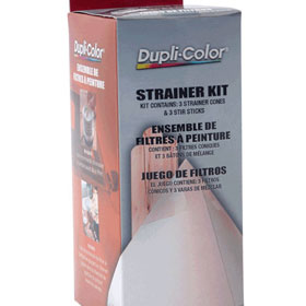 Dupli-Color Paint Shop Finishing System Strainer Kit - BSP400