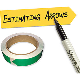 Collision Edge Mark Safe Estimating Arrows