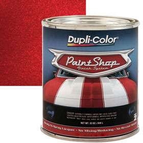 Dupli-Color Paint Shop Finishing System Candy Apple Red Paint - BSP303