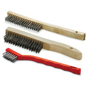 ABTM 3-Piece Stainless Steel Brush Set