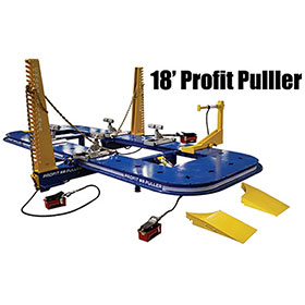 Chassis Liner Profit Puller 2 Tower 360 Degree Frame Rack - (18')