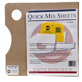 Quick Mix Sheets & Board