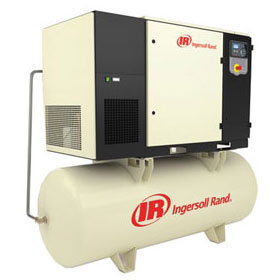 Ingersoll Rand Rotary Screw Air Compressors - 15HP, 120-Gallon, Max 145 PSI - UP6S-15-145