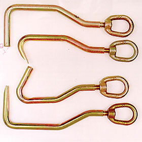 Keysco Set of 4 Sheet Metal Hooks