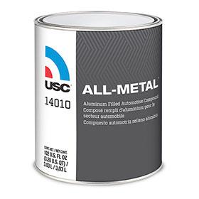 USC All-Metal Premium Aluminum Filled Auto Body Filler