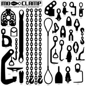 Mo-Clamp No. 10 Tool Board - 5079