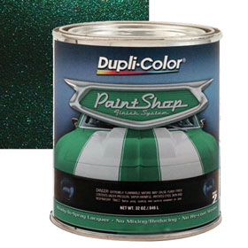 Dupli-Color Paint Shop Finishing System Dark Emerald Green Metallic Paint - BSP209