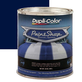 Dupli-Color Paint Shop Finishing System Midnight Blue Paint - BSP210