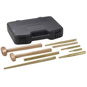 OTC Brass Hammer and Punch Set - 4629