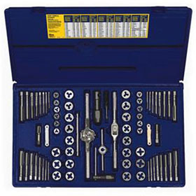 Irwin 76pc. Fractional/Metric Tap & Die Set - 26376