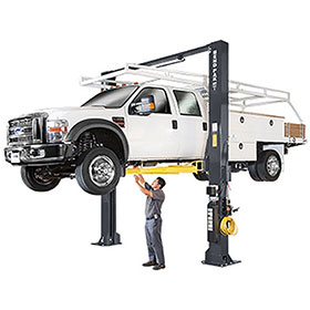BendPak Extra-Tall 18,000 Lb. Two Post Clearfloor Super-Duty Lift - XPR-18CL-192