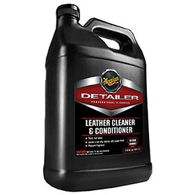 Meguiar's Detailer Leather Cleaner & Conditioner, Gallon - D18001