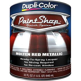 Dupli-Color Paint Shop Finishing System Molten Red Metallic Paint - BSP212
