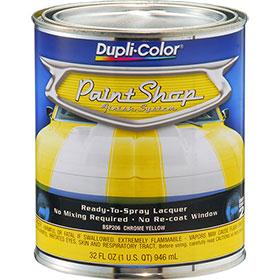 Dupli-Color Paint Shop Finishing System Chrome Yellow Paint - BSP206