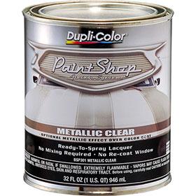 Dupli-Color Paint Shop Finishing System Metallic Clear Coat - BSP301