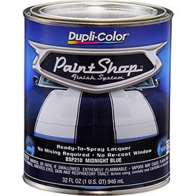 Dupli-Color Paint Shop Finishing System Midnight Blue Paint - BSP210