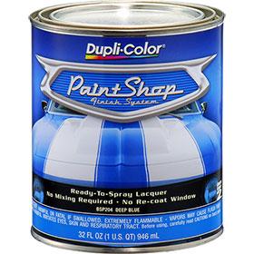 Dupli-Color Paint Shop Finishing System Deep Blue Paint - BSP204