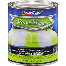 Dupli-Color Paint Shop Finishing System Sublime Green Pearl Paint - BSP208