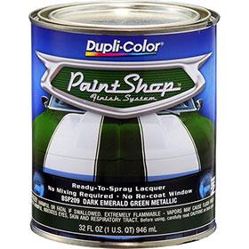 Dupli-Color Paint Shop Finishing System Dark Emerald Green Metallic Paint - BSP209