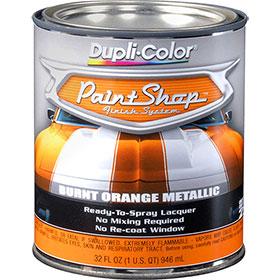 Dupli-Color Paint Shop Finishing System Burnt Orange Metallic Paint - BSP211
