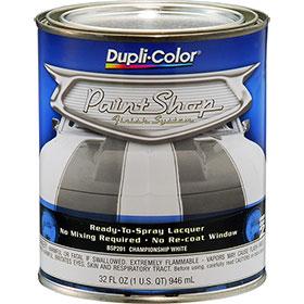 Dupli-Color Paint Shop Finishing System Championship White Paint - BSP201