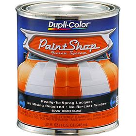 Dupli-Color Paint Shop Finishing System Hugger Orange Paint - BSP207