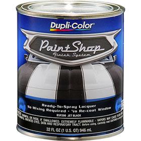 Dupli-Color Paint Shop Finishing System Jet Black Paint - BSP200