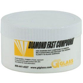 Glass Technology Diamond Fast - Cerium Oxide Glass Polishing Compound - SRDF-C