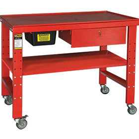 Ranger Heavy-Duty Teardown Work Bench with Fluid Catch - RWB-1TD