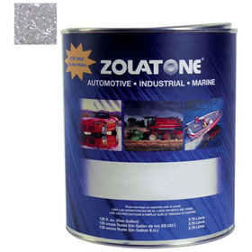 Zolatone 20 Silver Gray Paint Finish - Gallon - ZT-20-72-1G