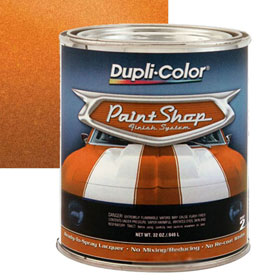 Dupli-Color Paint Shop Finishing System Burnt Orange Metallic Paint - BSP211