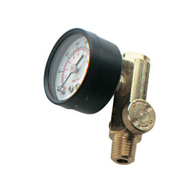 Air Control Valve with Gauge