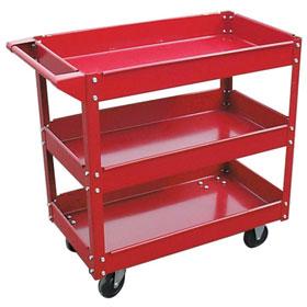 Wisdom 3 Tray Material Cart