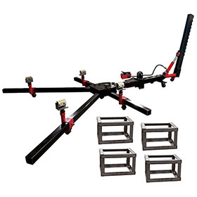 Champ Grappler 10-Ton 4-Clamp Mobile Frame Straightener