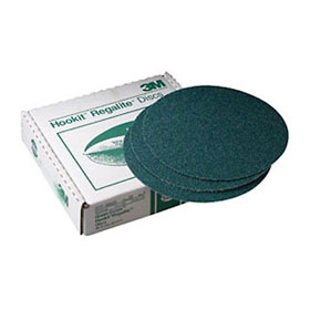 "3M Green Corps 8"" Hookit Regalite Discs"