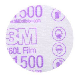 "3M Hookit 3"" Finishing Film Discs"