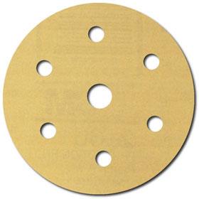 """3M Hookit Gold Disc D/F, 6"""" P400A"""