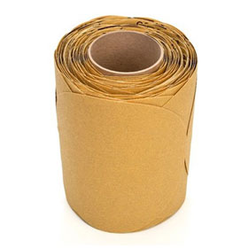 "3M Stikit Gold Disc Roll 8"", P80A, 125 discs/roll - 01493"