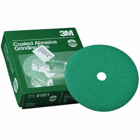 """3M Green Corps 7"""" Fibre Grinding Discs"""