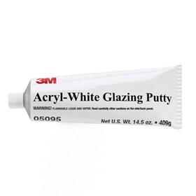3M Acryl-White Glazing Putty - 05095