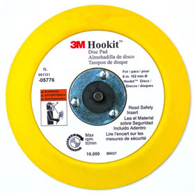 "3M Hookit 6"" Disc Pad - 05776"