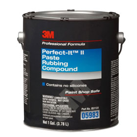 3M Perfect-It II Rubbing Compound, 1 gal - 05983