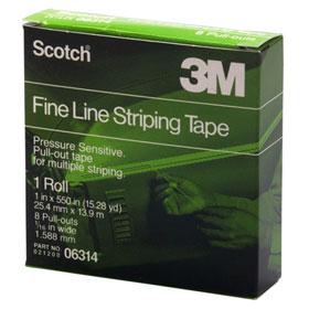 3M Scotch Fine Line Striping Tape - 06314