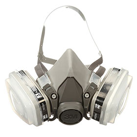 3M Organic Vapor/P95 Dual Cartridge Respirator Packout