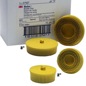 3M Scotch-Brite Roloc Bristle Discs