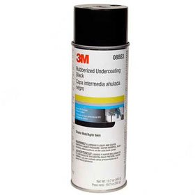 3M Underseal Rubberized Undercoating Black - 08883