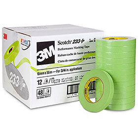 3M Scotch Performance Green Masking Tape 233+