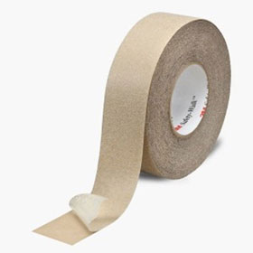 "3M Safety-Walk Slip-Resistant General Purpose Tapes and Treads 620, 4"" x 60ft Roll, Clear - 26418"